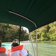 Met de boot op de rivier