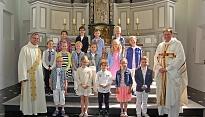 Eerste Heilige Communie 22 juni 2014