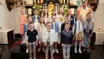 Groepsfoto Eerste Communie 2018