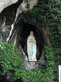 Mariabeeld Lourdes