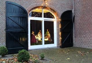 Kerstgroep in Koetshuis Diessen