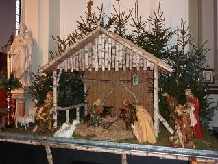 Kerststal Petruskerk Hilvarenbeek