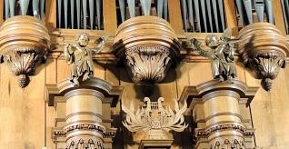 Puti en harp Van Hirtumorgel Diessen