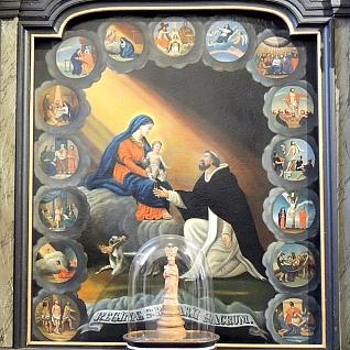 Schilderij Maria-altaar Willibrorduskerk Diessen