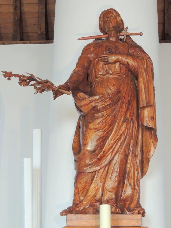 Beeld H. Lucia Willibrorduskerk Diessen
