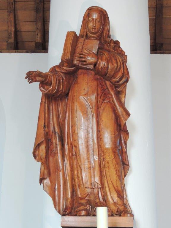 Beeld H. Theresia van Avila Willibrorduskerk Diessen