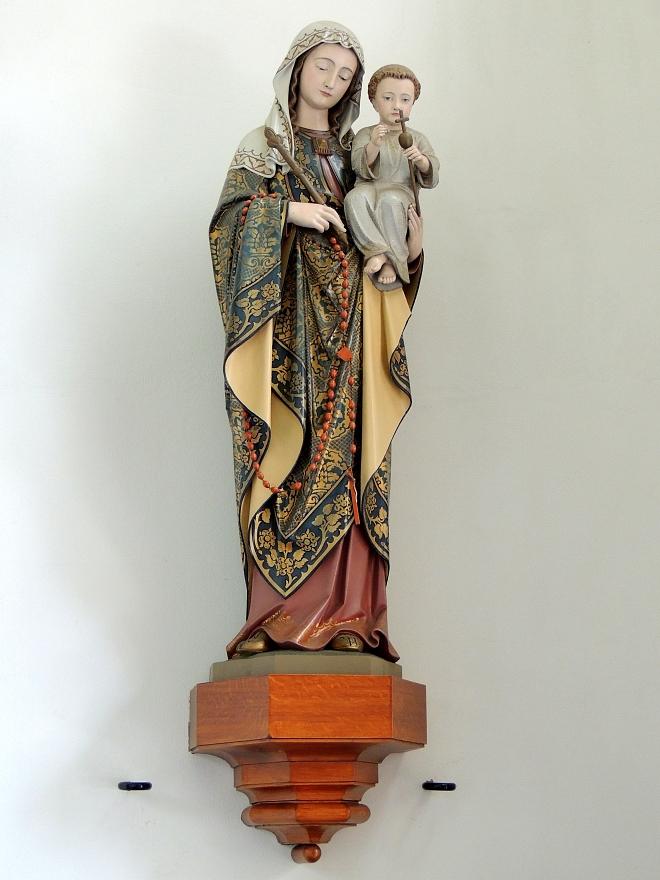 Mariabeeld uit Mariakapel in Willibrorduskerk Diessen