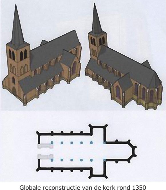 Sint-Petruskerk Hilvarenbeek in de 14de en 15de eeuw