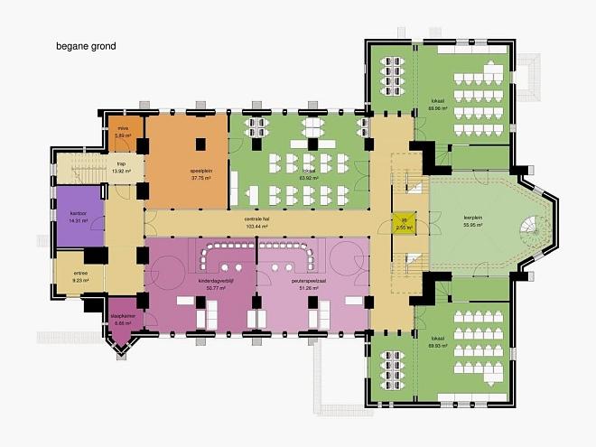Ontwerp kerk Esbeek als Samenwijs Accommodatie